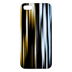 Digitally Created Striped Abstract Background Texture Apple iPhone 5 Premium Hardshell Case