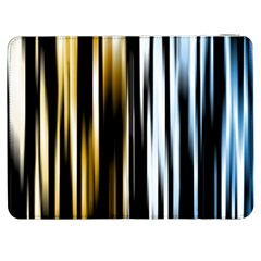 Digitally Created Striped Abstract Background Texture Samsung Galaxy Tab 7  P1000 Flip Case