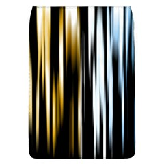 Digitally Created Striped Abstract Background Texture Flap Covers (L)