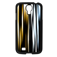 Digitally Created Striped Abstract Background Texture Samsung Galaxy S4 I9500/ I9505 Case (Black)
