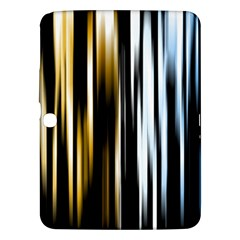 Digitally Created Striped Abstract Background Texture Samsung Galaxy Tab 3 (10.1 ) P5200 Hardshell Case