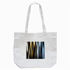 Digitally Created Striped Abstract Background Texture Tote Bag (White)