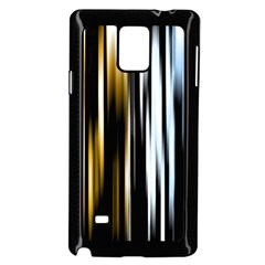 Digitally Created Striped Abstract Background Texture Samsung Galaxy Note 4 Case (Black)