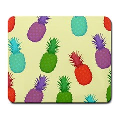 Colorful Pineapples Wallpaper Background Large Mousepads