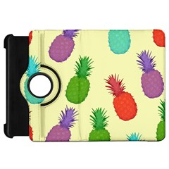 Colorful Pineapples Wallpaper Background Kindle Fire Hd 7