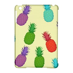 Colorful Pineapples Wallpaper Background Apple iPad Mini Hardshell Case (Compatible with Smart Cover)