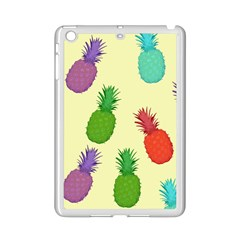 Colorful Pineapples Wallpaper Background iPad Mini 2 Enamel Coated Cases