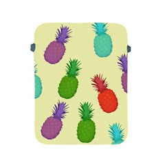 Colorful Pineapples Wallpaper Background Apple iPad 2/3/4 Protective Soft Cases