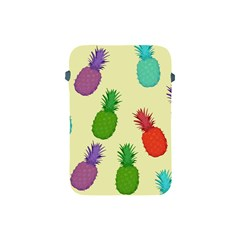 Colorful Pineapples Wallpaper Background Apple iPad Mini Protective Soft Cases