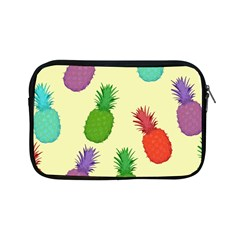Colorful Pineapples Wallpaper Background Apple iPad Mini Zipper Cases