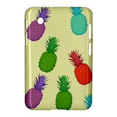 Colorful Pineapples Wallpaper Background Samsung Galaxy Tab 2 (7 ) P3100 Hardshell Case