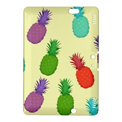 Colorful Pineapples Wallpaper Background Kindle Fire HDX 8.9  Hardshell Case