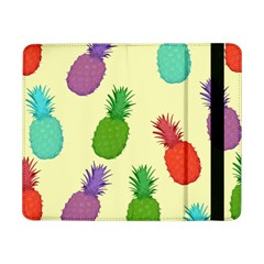 Colorful Pineapples Wallpaper Background Samsung Galaxy Tab Pro 8 4  Flip Case
