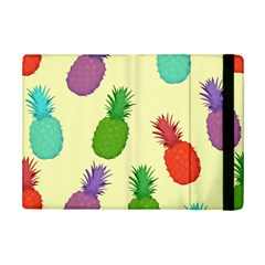 Colorful Pineapples Wallpaper Background iPad Mini 2 Flip Cases