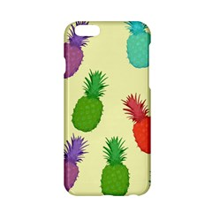 Colorful Pineapples Wallpaper Background Apple Iphone 6/6s Hardshell Case