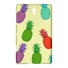 Colorful Pineapples Wallpaper Background Samsung Galaxy Tab S (8 4 ) Hardshell Case