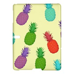 Colorful Pineapples Wallpaper Background Samsung Galaxy Tab S (10.5 ) Hardshell Case