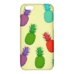 Colorful Pineapples Wallpaper Background iPhone 6/6S TPU Case