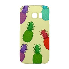 Colorful Pineapples Wallpaper Background Galaxy S6 Edge