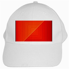Abstract Clutter Baffled Field White Cap