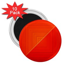 Abstract Clutter Baffled Field 2 25  Magnets (10 Pack)