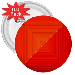 Abstract Clutter Baffled Field 3  Buttons (100 Pack)