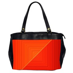 Abstract Clutter Baffled Field Office Handbags (2 Sides)