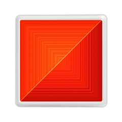 Abstract Clutter Baffled Field Memory Card Reader (square)