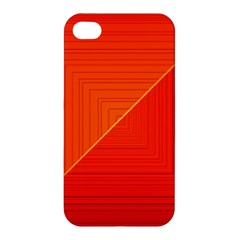Abstract Clutter Baffled Field Apple iPhone 4/4S Premium Hardshell Case
