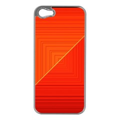Abstract Clutter Baffled Field Apple iPhone 5 Case (Silver)