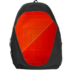 Abstract Clutter Baffled Field Backpack Bag
