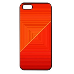 Abstract Clutter Baffled Field Apple iPhone 5 Seamless Case (Black)
