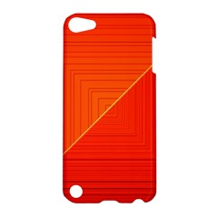 Abstract Clutter Baffled Field Apple iPod Touch 5 Hardshell Case