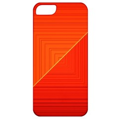 Abstract Clutter Baffled Field Apple iPhone 5 Classic Hardshell Case