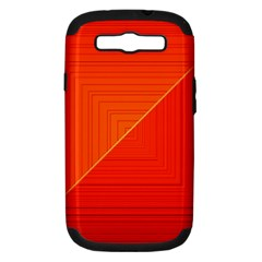 Abstract Clutter Baffled Field Samsung Galaxy S III Hardshell Case (PC+Silicone)