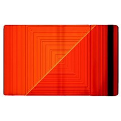Abstract Clutter Baffled Field Apple iPad 3/4 Flip Case