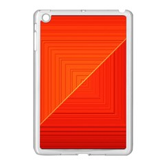 Abstract Clutter Baffled Field Apple iPad Mini Case (White)