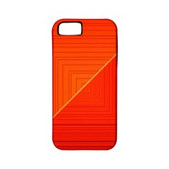 Abstract Clutter Baffled Field Apple Iphone 5 Classic Hardshell Case (pc+silicone)