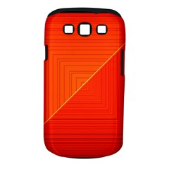 Abstract Clutter Baffled Field Samsung Galaxy S III Classic Hardshell Case (PC+Silicone)