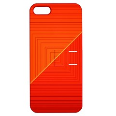 Abstract Clutter Baffled Field Apple iPhone 5 Hardshell Case with Stand