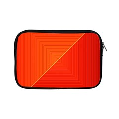 Abstract Clutter Baffled Field Apple Ipad Mini Zipper Cases