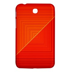 Abstract Clutter Baffled Field Samsung Galaxy Tab 3 (7 ) P3200 Hardshell Case