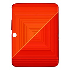 Abstract Clutter Baffled Field Samsung Galaxy Tab 3 (10.1 ) P5200 Hardshell Case