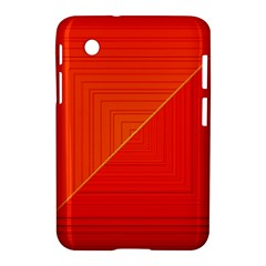 Abstract Clutter Baffled Field Samsung Galaxy Tab 2 (7 ) P3100 Hardshell Case