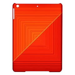 Abstract Clutter Baffled Field iPad Air Hardshell Cases