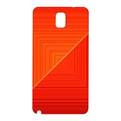 Abstract Clutter Baffled Field Samsung Galaxy Note 3 N9005 Hardshell Back Case