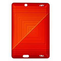 Abstract Clutter Baffled Field Amazon Kindle Fire HD (2013) Hardshell Case