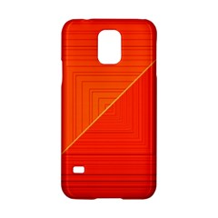 Abstract Clutter Baffled Field Samsung Galaxy S5 Hardshell Case