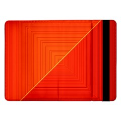 Abstract Clutter Baffled Field Samsung Galaxy Tab Pro 12.2  Flip Case