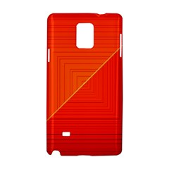 Abstract Clutter Baffled Field Samsung Galaxy Note 4 Hardshell Case